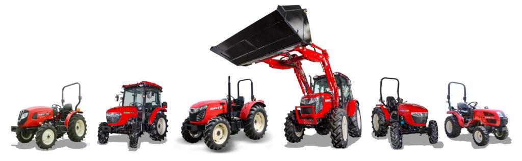 Norsk distributør for Branson traktorer